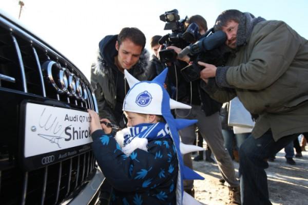 Роман Широков и его новая Audi