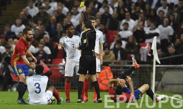Товарищеские матчи: Англия – Испания 2:2