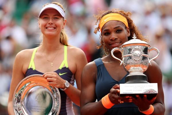 Мария Шарапова и Серена Уильямс в рейтинге Forbes