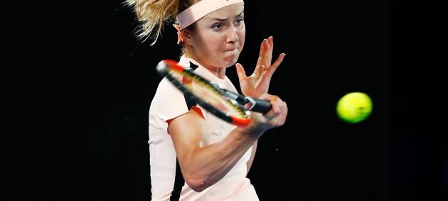 Свитолина впервые в карьере вышла в 1/4 финала Australian Open