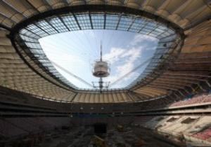 Национальный стадион в Варшаве обзавелся крышей