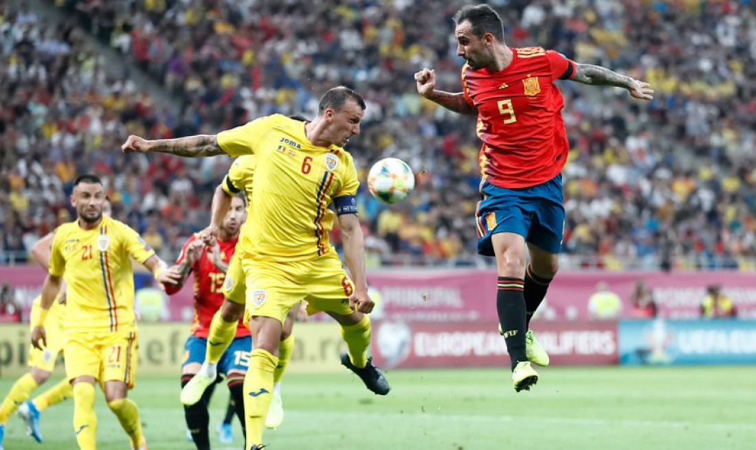 Румыния - Испания: видео голов
