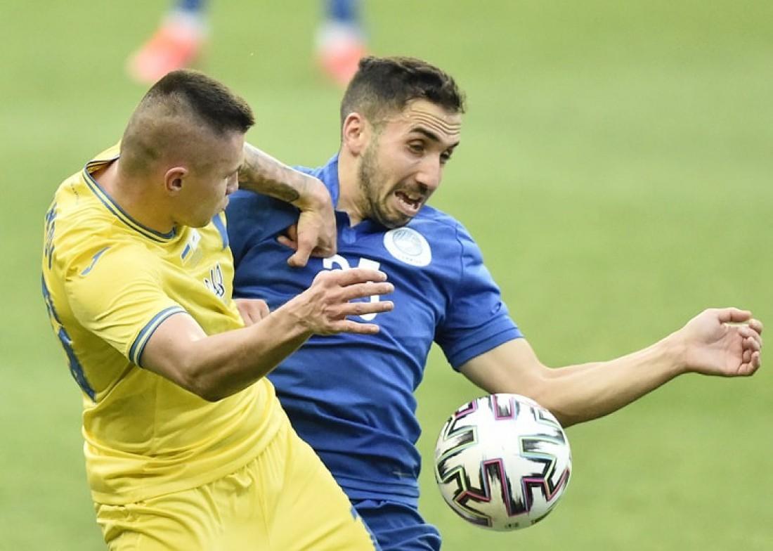 Сборная Украины - сборная Кипра