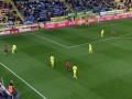 Красивый гол пяткой в чемпионате Испании