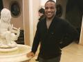 На черный континент: Беленюк улетел знакомиться с африканскими родственниками