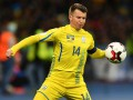 Ротань провел сотый матч за сборную Украины