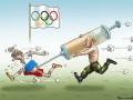 Участие России на Олимпиаде в Рио высмеяли в карикатурах