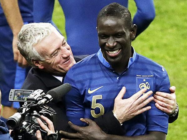 Сахо стал героем матча с Украиной, забив два гола