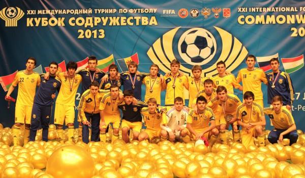 Сборная Украины хорошо себя показала на Кубке Содружества