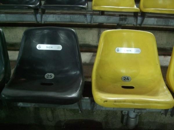 Кресла на дртмундской Сигнал Идуна Парк