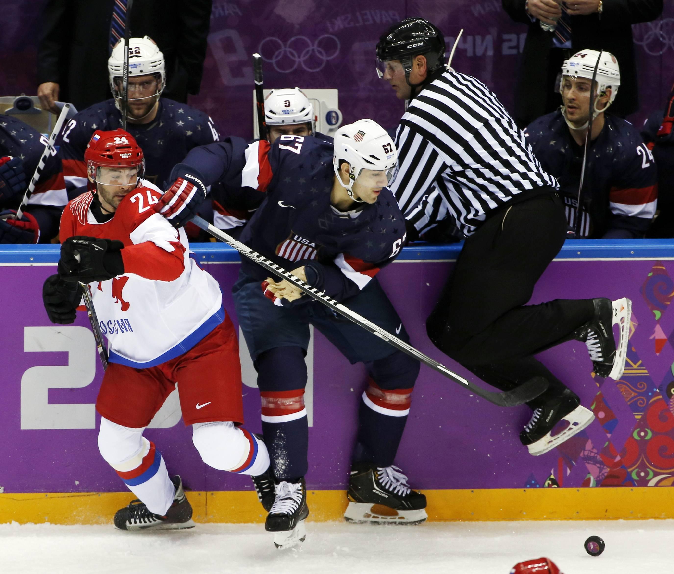 Хоккеисты России и США определяют сильнейшего