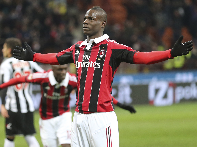 Балотелли отметился дублем за Милан