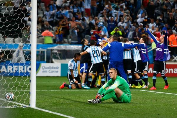 Силессен не отбил ни одного пенальти в матче с Аргентиной