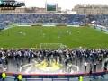 Фанаты сорвали матч чемпионата России Зенит - Динамо Москва