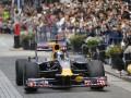 В Японии болид Формулы-1 сбил человека