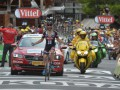 Полиция расстреляла автомобиль, который прорывался на велодром Тур де Франс