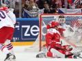 ЧМ по хоккею: Дания обыгрывает Чехию в серии буллитов