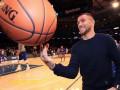 Ломаченко посетил игру Нью-Йорк Никс