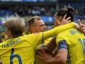 Швеция – первая команда на Евро, которая забила, не нанеся ни одного удара в створ