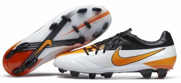 Nike T90 Laser IV – White/Total Orange
