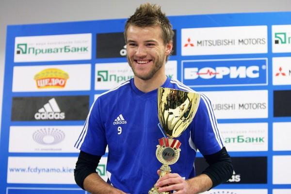 Андрей Ярмоленко счастлив в Динамо