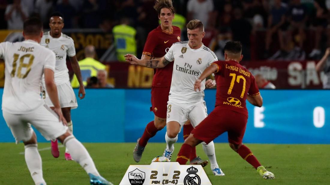 Рома - Реал: обзор матча