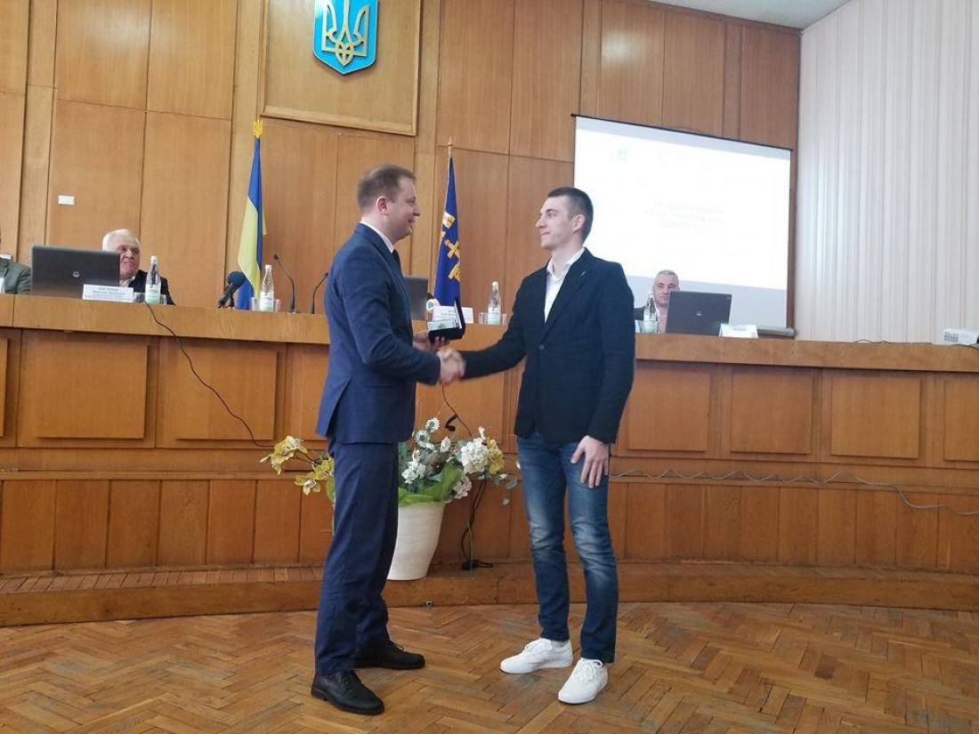 Дмитрий Пидручный получил премию за золото ЧМ
