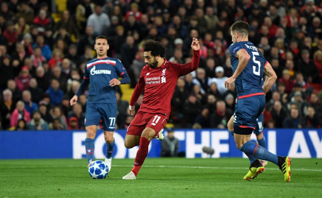 Ливерпуль - Црвена Звезда: видео голов и обзор матча