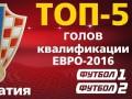 ТОП-5 голов сборной Хорватии в квалификации на Евро-2016