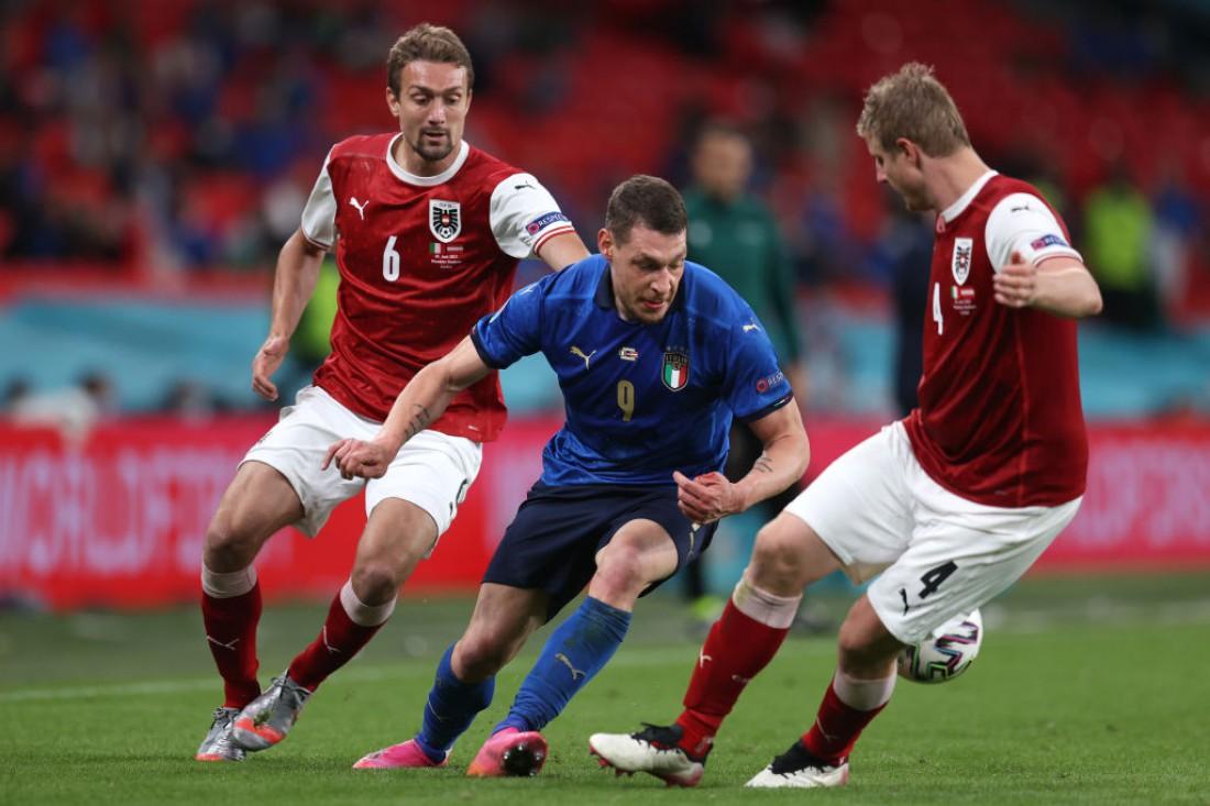 Сборная Италии - сборная Австрии
