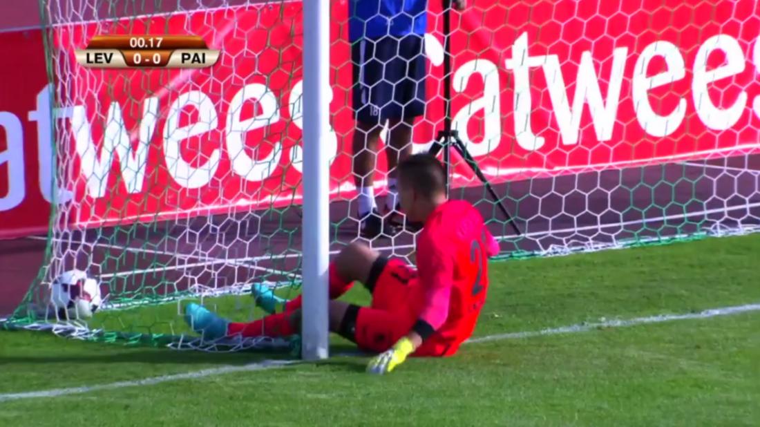 Эстонская команда забила себе гол