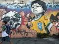 Красочный протест: Лучшие граффити против чемпионата мира в Бразилии