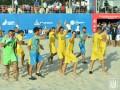 Сборная Украины по пляжному футболу победила Швейцарию на старте отбора Евролиги