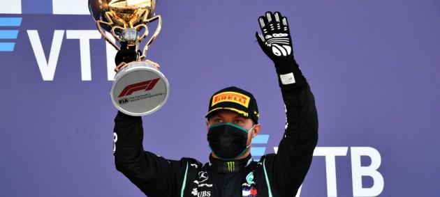 Боттас выиграл гонку Формулы-1 в Сочи