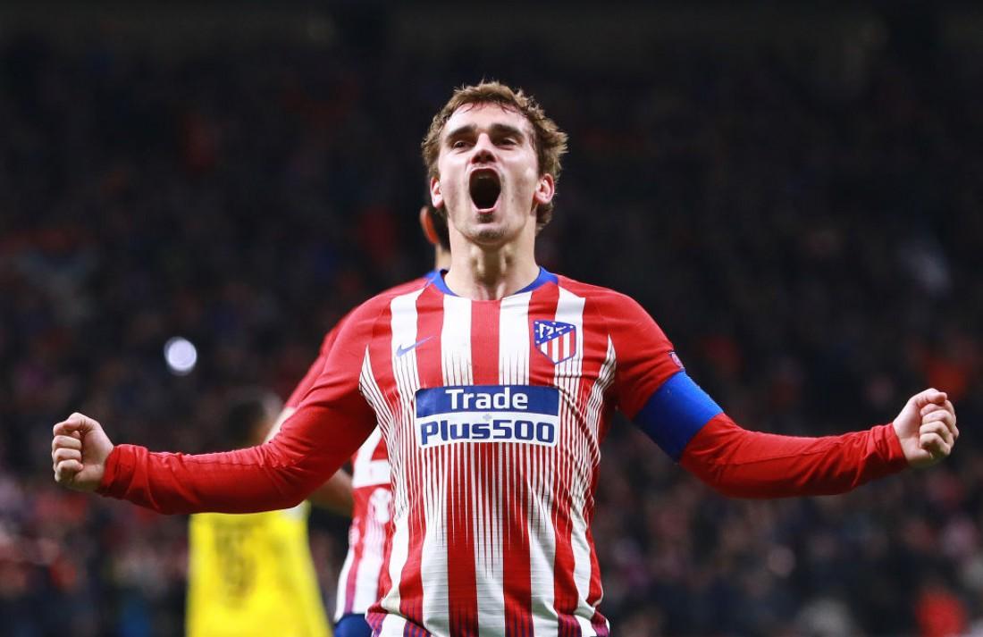 Гол Антуана Гризманна попал в ТОП-5 лучших голов 11-го тура Ла Лиги
