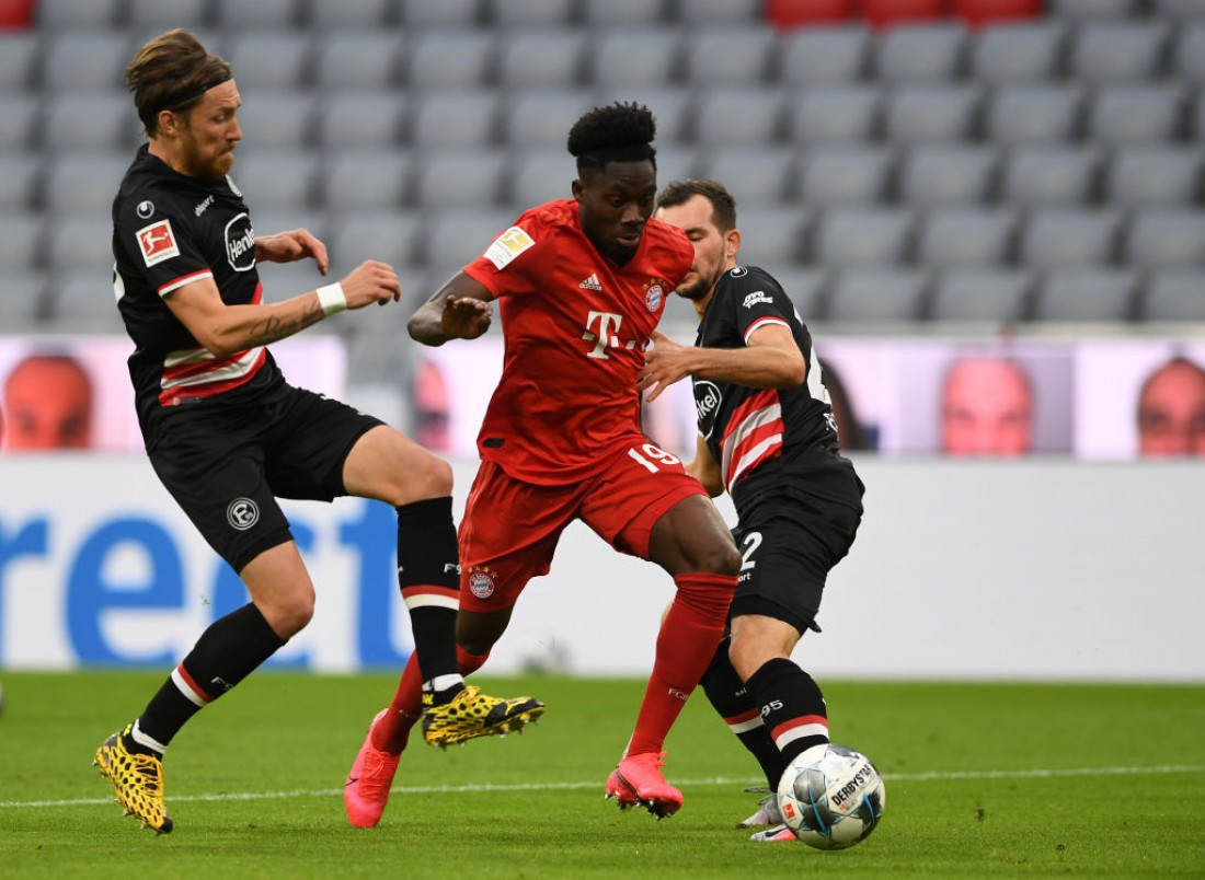 Бавария - Фортуна: видео голов и обзор матча