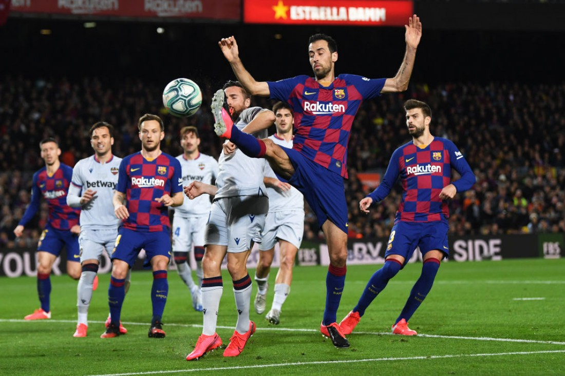 Барселона - Леванте: видео голов и обзор матча
