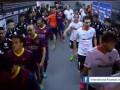 Три гола Месси помогли Барселоне победить Валенсию