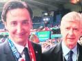 Венгер перепутал Эмери с врачом сборной Хорватии на Евро-2016