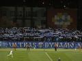 Фанаты Динамо устроили огненное шоу в Праге