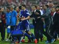 В Уругвае фаната подстрелили в туалете во время футбольного матча