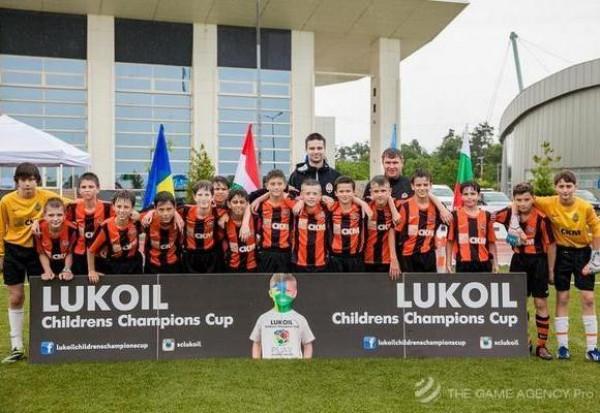 Дети Шахтера выиграли турнир в Румынии