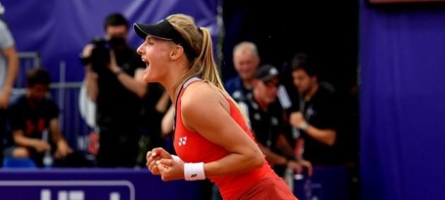 Ястремская в тяжелом финале выиграла турнир в Страсбурге
