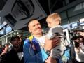 Наш герой: Как встречали чемпиона мира Александра Усика