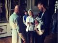 Ярмоленко и супруга Сидорчука стали крестными родителями сына Безуса