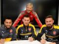 Арсенал продлил контракты сразу с тремя футболистами