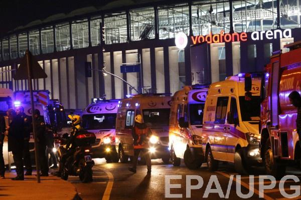 В Стамбуле произошел взрыв у футбольного стадиона