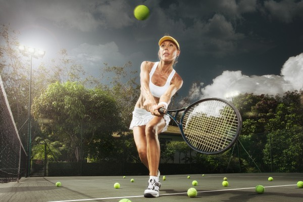 Как можно научиться играть в теннис