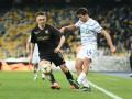 Спорный момент в штрафной Динамо в матче Кубка Украины против Колоса