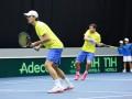 Тяжелая битва: Украинцы проиграли пару шведам в Кубке Дэвиса (ФОТО)